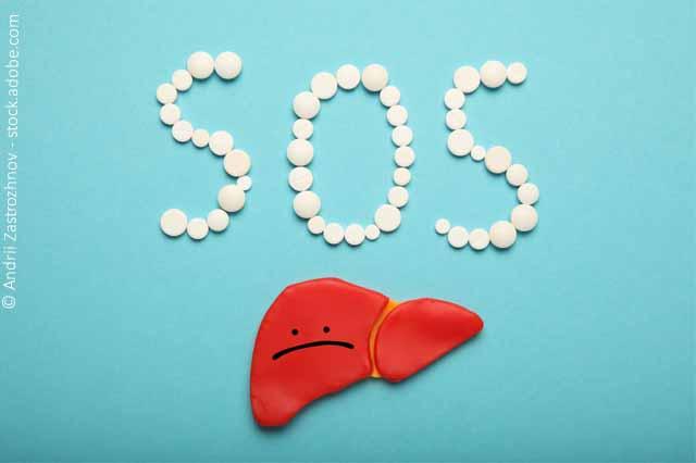 SOS Aus Pillen Und Traurige Leber