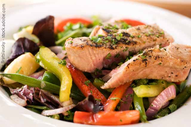 Einfach Kochen_Lachs Mit Gemüse