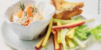Lachscreme Mit Gemüsesticks