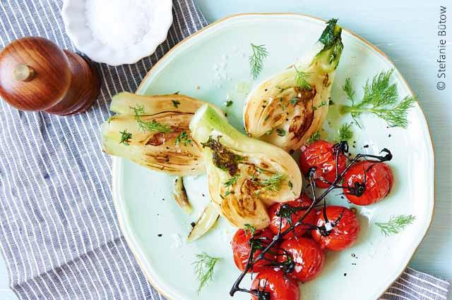 Fenchel-Tomaten-Gemüse