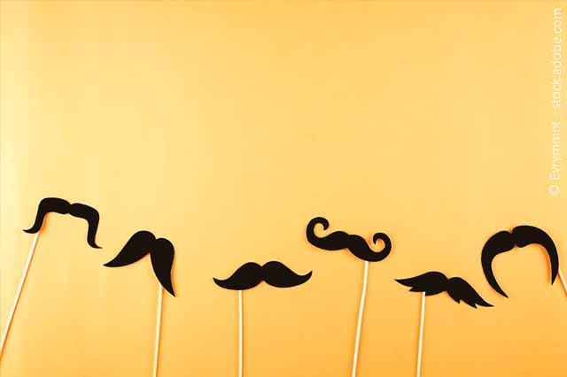 Schnurbärte Zum Movember
